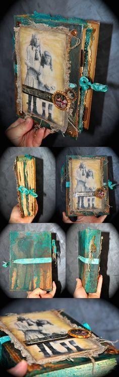 Art journal atelier avec France Papillon par Hellofanny http://hellofannyscrap.com/
