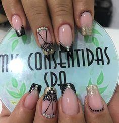 Make Up, Nail Art, Nails, Beauty, Designed Nails, Work Nails, Long Nail Art, Short Nail Manicure, Nail Manicure