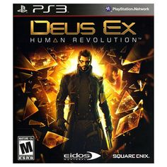 Deus Ex: Human Revolution for Playstation 3, Multicolor
