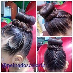 peinadoscolorin's Instagram photos   Pinsta.me - Explore All Instagram Onlinebraid bun