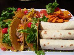 Tacos y taquitos para el Super Bowl