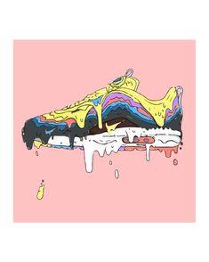 Trendy Sneakers Wallpaper Art Source by wallpaper Art And Illustration, Sneakers Wallpaper, Shoes Wallpaper, Hype Wallpaper, Iphone Wallpaper, Wallpaper Art, Trendy Wallpaper, Sneaker Posters, Mode Poster