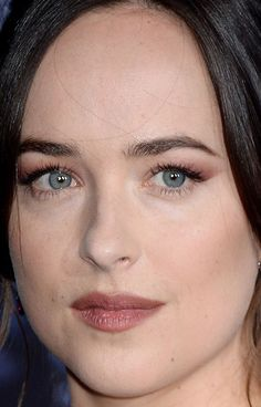 Close-up of Dakota Johnson at the 2017 premiere of 'Fifty Shades Darker.'