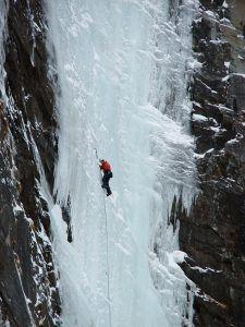 Eisklettern im Zillertal