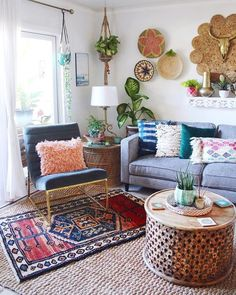 Home Decor Living Room .Home Decor Living Room Bohemian Interior Design, Bohemian Decor, Diy Bedroom Decor, Living Room Decor, Cozy Bedroom, Living Rooms, Amazing Decor, Gothic Home Decor, Himmelblau