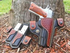 Posts about Gun holsters written by Thanh N. 1911 Leather Holster, 1911 Holster, Custom Leather Holsters, Pistol Holster, Revolver, Western Holsters, Concealed Carry Holsters, Leather Projects, Leather Crafts