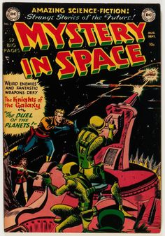 Mystery in Space #3 (DC, 1951)