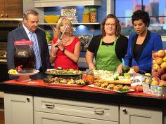Talking peach recipes on CanadaAM Peach, Recipes, Jewelry, Jewels, Rezepte, Schmuck, Food Recipes, Prunus, Jewerly