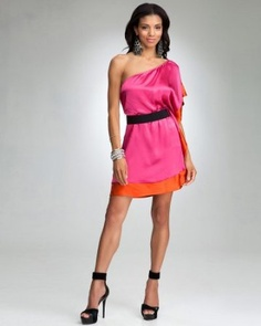 BEBE fashion Like the layers, colors, would add full coverage sleeve and longer or another layer