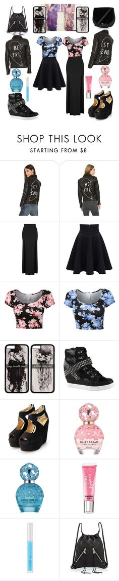 """Untitled #233"" by mikayla-burgess ❤ liked on Polyvore featuring Veda, Topshop, ALDO, Marc Jacobs, Beauty Rush, Osmotics Cosmeceuticals and Rebecca Minkoff"