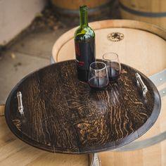 platter ebony stained alpine wine design alpine wine design outdoor finish wine barrel