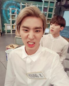 brian and his 멍 lover ㅋㅋㅋ #dowoon #day6 fyeah!daysix
