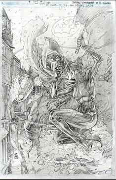Batman And Catwoman, Batman Art, Comic Books Art, Comic Art, Book Art, Jim Lee Batman, Jim Lee Art, Drawing Studies, Dc Comics Superheroes