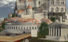 Travel Through 2,000 Years of Paris History with 3D Model | Mashable 10/5