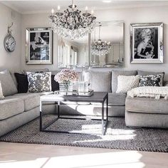 Nice 13 Latest Tips You Can Learn When Attending Black And Grey Living Room Decorating Ideas #livingroomdecoratingtips