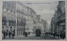 """#Lisbon Rua da Misericórdia was named in 1937, to honor the Holy House of Mercy (which is at the top). Between 1910 and 1937, this was called artery Street of the World, in honor of the newspaper with the same name """"O Mundo"""" that was based there from 1889.  Further back in time, it was the wide street of São Roque, by association with the Church and convent of São Roque."""