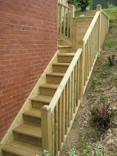 Wooden Steps For Garden Were Also Integrated Within The