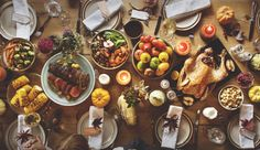 A Thanksgiving feast, provided by the miracle of markets