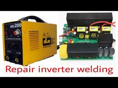 Inverter welding machine repair part falut@ machine dead Inverter Welding Machine, Inverter Welder, Arc Welding Machine, Electrical Layout, Electrical Tools, Arc Welders, Electronic Circuit Projects, Solar Projects, Ac Power