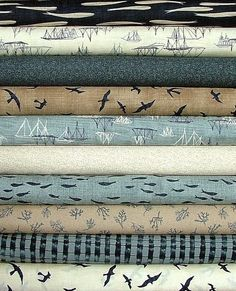 Beach Bum Fabrics -Designer Collections and Quilt Kits