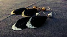 Boucles d'oreilles et paillettes  10 euros  https://www.facebook.com/Mon-petit-doigt-me-la-dit-414195705327149/