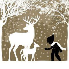 Christmas Tree Silhouette   christmas silhouette window