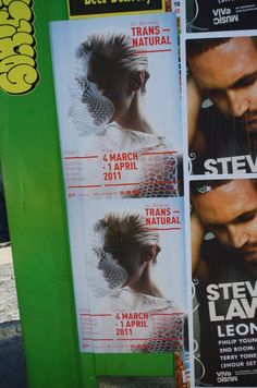 Poster in Amsterdam