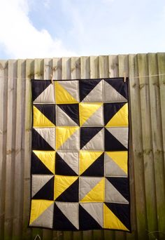 A quilt I made - from @janev on Ello.