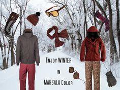 Marsala rood in de skimode van 2015 #pantone #color #2015 #fashion http://trendbubbles.nl/skimode-2015-marsala-rood/