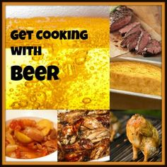cooking with beer, recipes