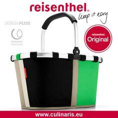 reisenthel - carrybag - patchwork green - Einzigartig in Form und Funktion – so zeigt sich der carrybag schon seit 2003. Beim Shoppen, auf dem Wochenmarkt oder beim Picknick im Park ist er heute ein echter Klassiker.