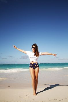 Dulceida: TESTINO SHOT ME # BAVARO BEACH