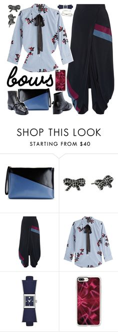 """""""Bows"""" by petalp ❤ liked on Polyvore featuring Marni, Marc Jacobs, STELLA McCARTNEY, Kate Spade, Casetify and ootd"""