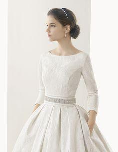 Rosa Clara - this dress is EVERYTHING!  Caceres novia corte evasé