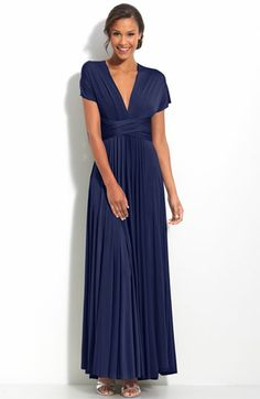 twobirds Convertible Jersey Gown (Regular & Plus) available at #Nordstrom