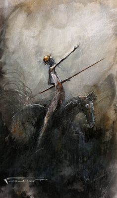 'Don Quixote' by French painter and illustrator Marcel Nino Pajot born Marcel, Comic Art, Art Painting, Human Art, Painting, Illustration Art, Art, Man Of La Mancha, Art Thou