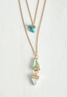 Beadworks Like a Charm Necklace | Mod Retro Vintage Necklaces | ModCloth.com