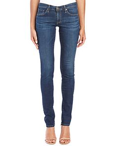 AG Jeans The Aubrey Skinny Straight Fit