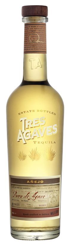 TRES AGAVES TEQUILA an award-winning, agave Tequila, estate-bottled for full, smooth taste at one of the last family-owned distilleries in Jalisco Mexico Best Sipping Tequila, Best Tequila, Tequila Drinks, Fun Drinks, Alcoholic Drinks, Cocktails, Drinks Alcohol, Agaves, Bourbon Liquor