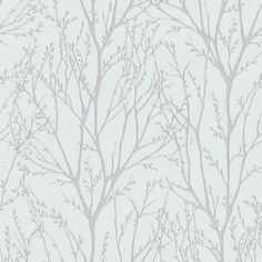 NuWallpaper NuWallpaper ft White Vinyl Ivy/Vines Self-Adhesive Peel and Stick Wallpaper at Lowe's. Nature meets glamour in this peel and stick wallpaper. The tree design climbs up the wall in a gold metallic ink that shimmers in the light.