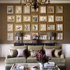Hanging Pictures Creative Ideas for Decoration (houseandgarden.co.uk) (houseandgarden.co.uk)