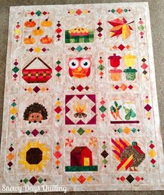 Fall into a Quilt Along: Setting Tutorial — Snowy Days Quilting Quilt Block Patterns, Pattern Blocks, Quilt Blocks, Nancy Zieman, Quilting Projects, Sewing Projects, Sewing Ideas, Quilt Of Valor, Shabby Fabrics