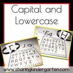 Alphabet activity for kindergarten