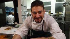 Chef-owner Javi Estévez, La Tasquería de Javi Estévez, Duque de Sesto, 48. Madrid. Tel. 91 451 10 00, Jan 24, 2017.  Photo by Gerry Dawes©2017