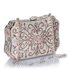 Judith Leiber Garden Gates Evening Bag by jean Judith Leiber, Vintage Purses, Vintage Bags, Vintage Handbags, Beaded Purses, Beaded Bags, Cute Purses, Purses And Bags, Lv Bags