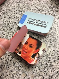 A flip book that can be used as a greeting card!