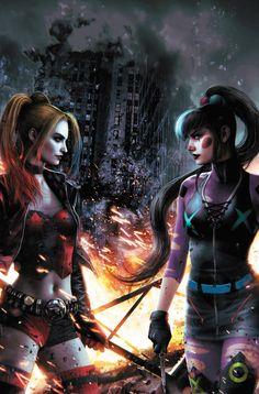 Dc Comics Women, Dc Comics Superheroes, Dc Comics Characters, Dc Comics Art, Marvel Dc Comics, Dc Comics Girls, Catwoman Comic, Joker Dc, Gotham Villains