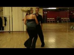 Cool Swing Dancing with Trevor & Stephanie. A candid East Coast swing video at the Pattie Wells' Dancetime Center in San Diego with Trevor Davidson and Stephanie Swain practicing some East Coast swing. http://www.DanceTime.com