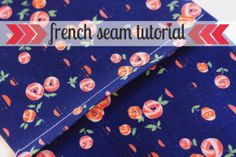 french seam tutorial