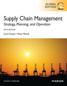 New book supply chain management